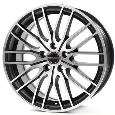 Felgi Aluminiowe 18 Borbet Cw4 5x105 8x18 Et40 Black Polished Matt