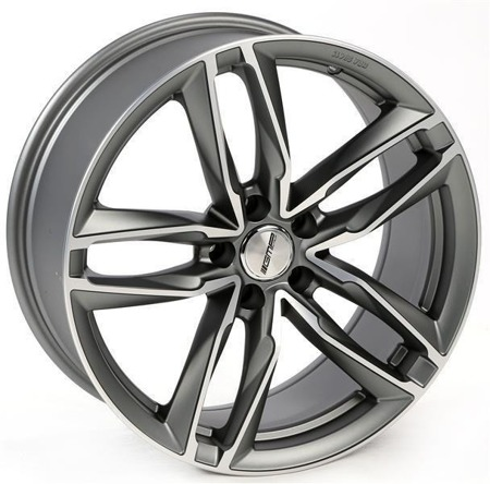 GMP ITALIA ATOM 5x112 8.5x19 ET45 MATT ANTHRACITE DIAMOND