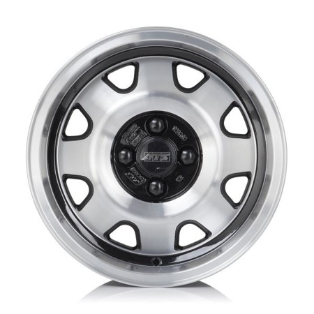 FELGI ATS CUP 4x100 7x15 ET28 Diamond Black Front Polished