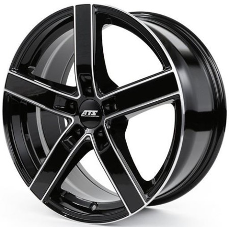 FELGI ATS EMOTION 5x114.3 7x16 ET48 Diamond Black Front Polished