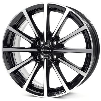 FELGI BORBET BL4 4x108 7x17 ET35 Black Polished