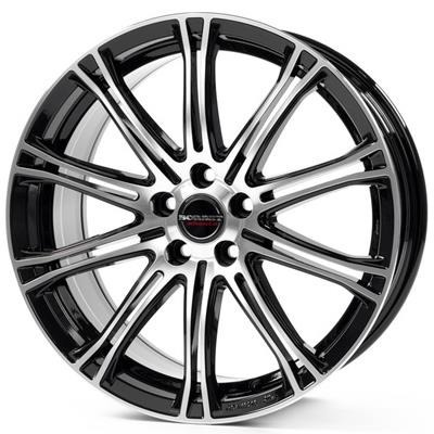 FELGI BORBET CW1 5x108 8x18 ET45 Black Polished