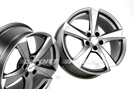 GMP ITALIA ICAN 5x112 8.5x20 ET25 MATT ANTHRACITE DIAMOND