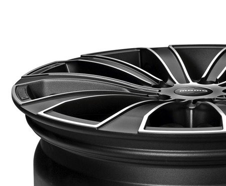 MOMO EUROPE 4x100 7x16 ET35 Carbon Black Polished