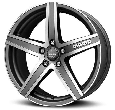 MOMO HYPERSTAR EVO 4x98 7x17 ET39 Matt Anthracite Polished