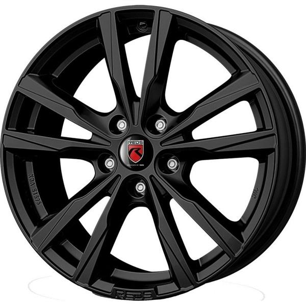 MOMO K2 HD 5x110 7.5x17 ET30 Black Matt