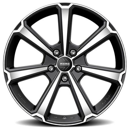 MOMO LEGEND 5x114.3 7.5x18 ET45 Black Matt Polished