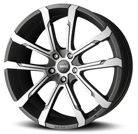 MOMO QUANTUM EVO 5x114.3 7x17 ET49 Matt Anthracite Polished