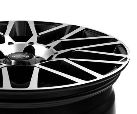 MOMO REVENGE EVO 5x112 8.5x19 ET25 Black Matt Polished