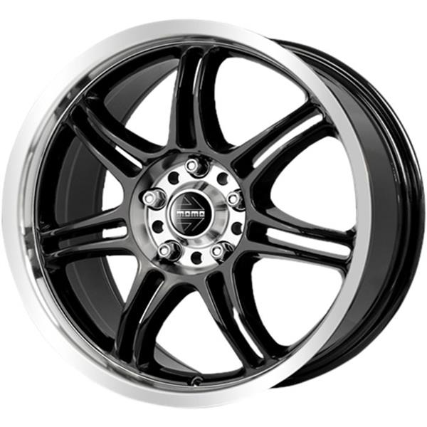 MOMO RPM EVO 5x112 7x16 ET42 Black Polished