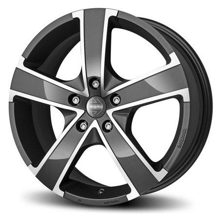 MOMO WIN PRO EVO 4x100 6.5x16 ET38 Anthracite Polished