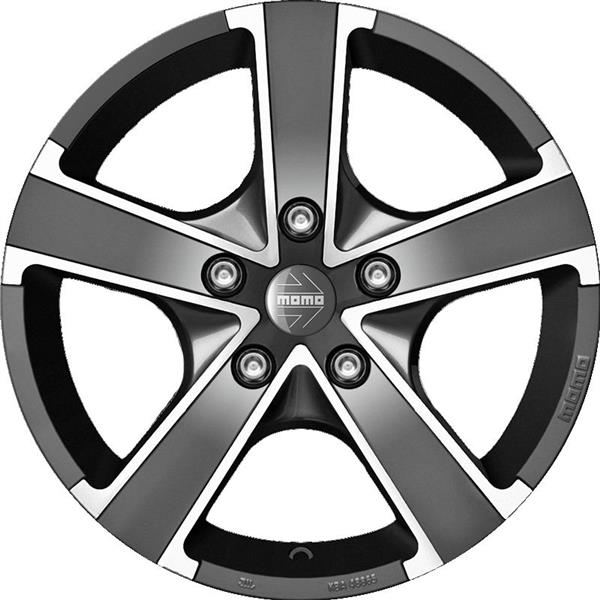 MOMO WIN PRO EVO 5x115 6.5x16 ET38 Anthracite Polished