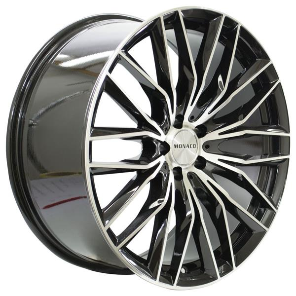 MONACO GP2 5x112 8.5x19 ET30 Gloss Black Polished