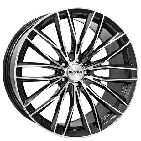 MONACO GP2 5x112 8.5x19 ET45 Anthracite Polish