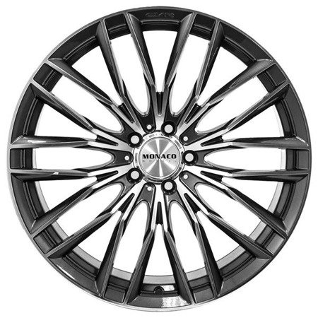 MONACO GP2 5x120 8.5x20 ET20 Anthracite Polish