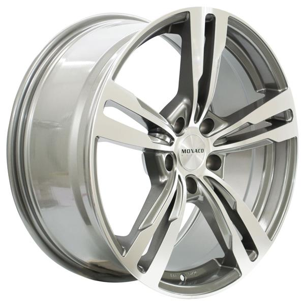 MONACO GP4 5x120 9.5x21 ET40 Anthracite Polish