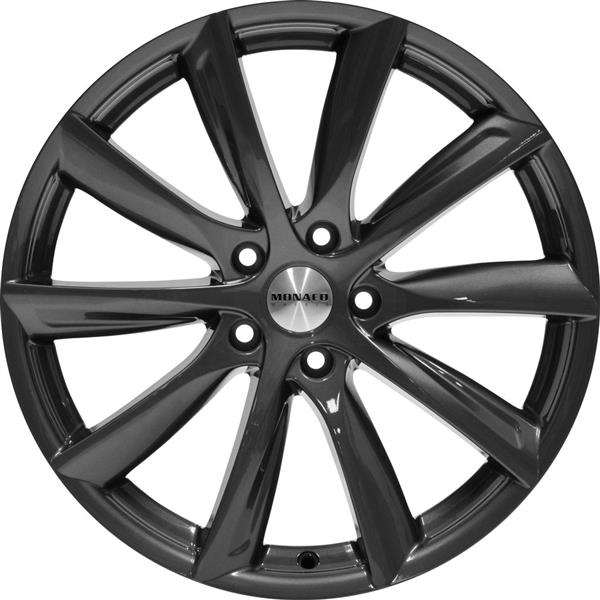 MONACO GP6 5x120 9x20 ET35 Anthracite Dark