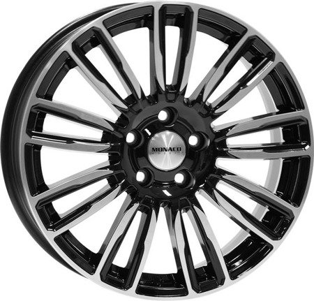 MONACO MC14 5x120 8.5x19 ET45 Gloss Black Polished