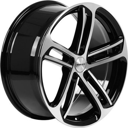 MONACO MC4 5x112 8.5x19 ET45 Gloss Black Polished