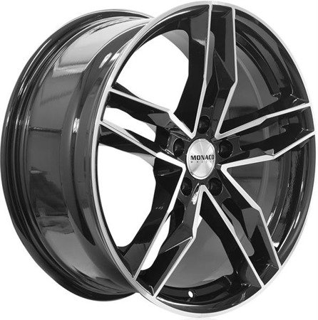 MONACO RR8M 5x120 8.5x19 ET35 Gloss Black Polished