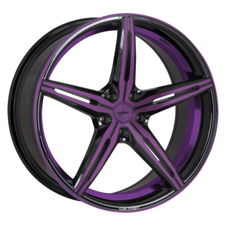 OXIGIN 23 DIAMOND 5x112 8.5x19 ET45 Purple Polish
