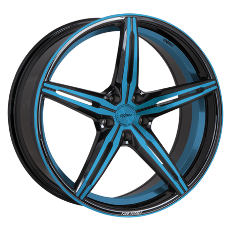 OXIGIN 23 DIAMOND 5x112 9x20 ET35 Light Blue Polish