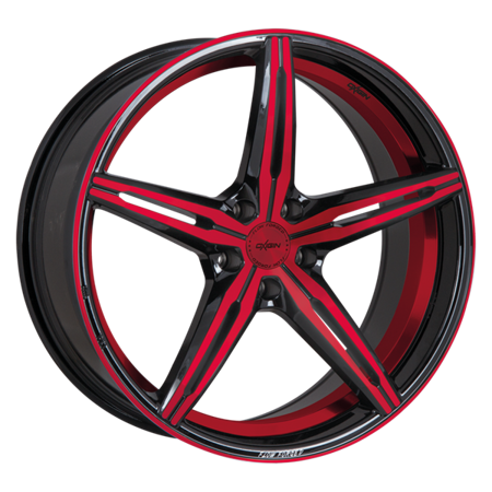 OXIGIN 23 DIAMOND 5x114.3 8.5x19 ET35 Red Polish