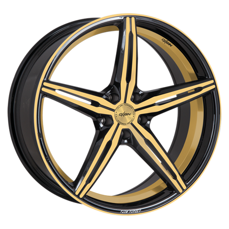 OXIGIN 23 DIAMOND 5x114.3 8.5x19 ET43 Gold Polish