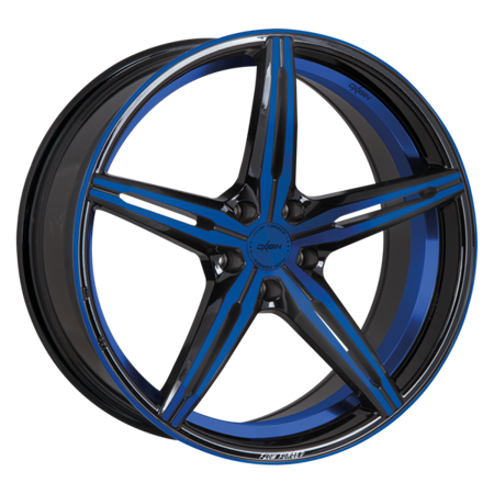 OXIGIN 23 DIAMOND 5x115 8.5x19 ET40 Blue Polish