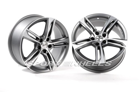 GMP ITALIA PAKY 5x112 9x20 ET25 MATT ANTHRACITE DIAMOND