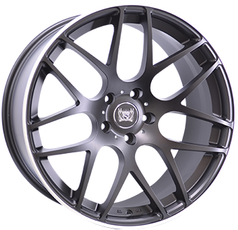 SOLEIL LXM-1 5x112 8.5x19 ET21 Matt Black Polished