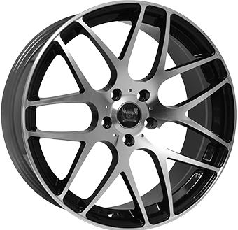 SOLEIL LXM-1 5x120 8.5x19 ET35 Gloss Black Polished