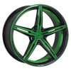 OXIGIN 23 DIAMOND 5x114.3 8.5x19 ET35 Neon Green Polish